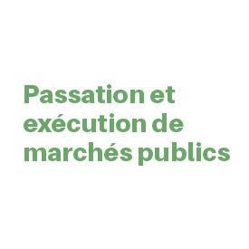 passation-execution-marché-public